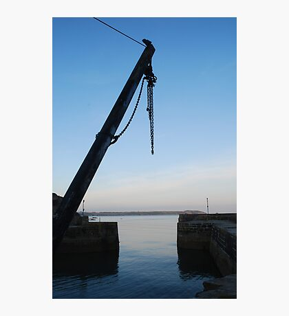 Hoist at Charlestown Harbour Photographic Print