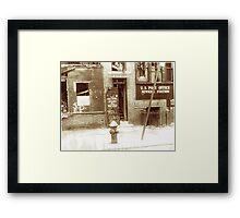 Brooklyn Post Office Framed Print
