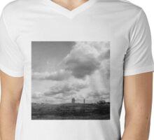 landscape with giants Mens V-Neck T-Shirt