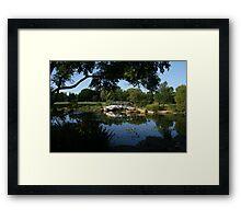 Bridge of Love Framed Print