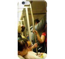 Riding the Metro iPhone Case/Skin