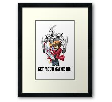 Get your game on! Framed Print