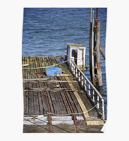 Seattle dock Poster