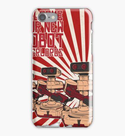 Rise of R.O.B.unism iPhone Case/Skin