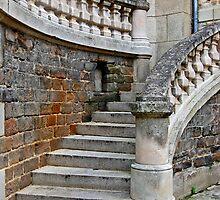 Stairs of La Mans France by DiamondCactus