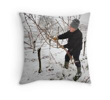 Late Pruning Throw Pillow