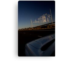 Westgate Freeway sky sculpture Canvas Print