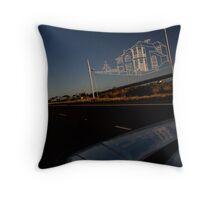 Westgate Freeway sky sculpture Throw Pillow