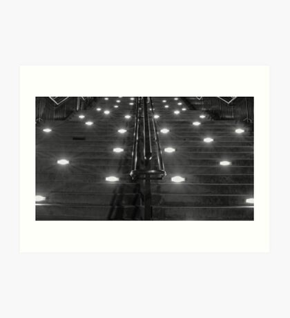 Stairs of King St Station Art Print