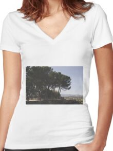 Arezzo, Tuscany, Italy Women's Fitted V-Neck T-Shirt