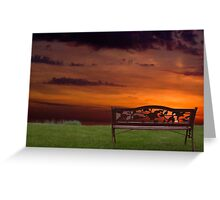Sunrise on the Bay of Fundy, Nova Scotia Greeting Card
