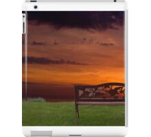 Sunrise on the Bay of Fundy, Nova Scotia iPad Case/Skin