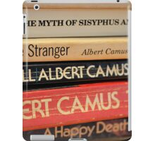 The Pages of Camus iPad Case/Skin