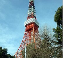 Tokyo Tower, March 2013 : Photo Friday at meauxtaku.com by merimeaux