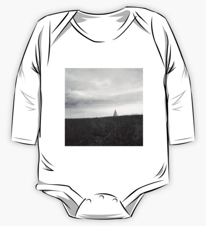 landscape with a pyramid  One Piece - Long Sleeve