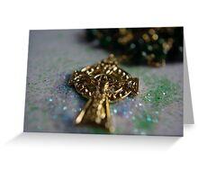 Irish Rosary Greeting Card