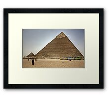 Jolly Boys Outing to Giza Framed Print