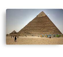 Jolly Boys Outing to Giza Canvas Print