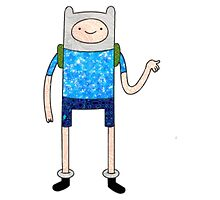 Adventure Time - Wavy Finn by scottellis1