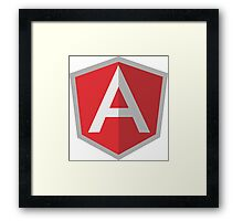 Angularjs Framed Print