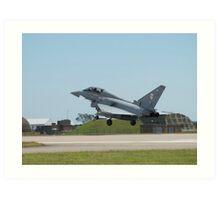 "Typhoon T1 ""BA"" 29 Squadron RAF  Art Print"
