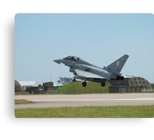 "Typhoon T1 ""BA"" 29 Squadron RAF  Canvas Print"