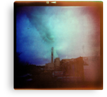 Smokestack Lightning Canvas Print
