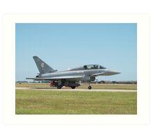 "Typhoon T1 ""BF"" 29 Squadron RAF  Art Print"