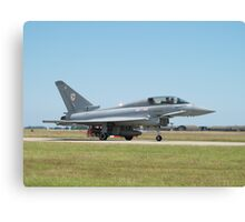 "Typhoon T1 ""BF"" 29 Squadron RAF  Canvas Print"