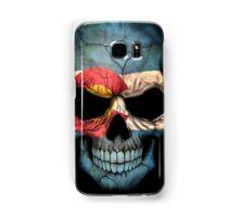 Colorado Flag Skull Samsung Galaxy Case/Skin