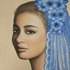 Blue anemone by Kamila  Krizova/Aitchison