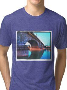 Sunday Morning At The London Bridge Tri-blend T-Shirt