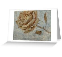 The Rose * Wall Art Greeting Card