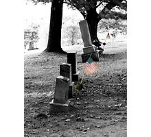 Patriot's Grave Photographic Print