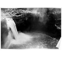 Paloose Falls, Washington, US Poster