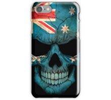 Australian Flag Skull iPhone Case/Skin
