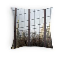 Temple Reflections Throw Pillow