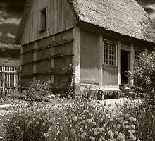 Acadian Cottage by Harv Churchill