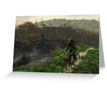 Deeping Bosk - Jemma and the Dark Place Greeting Card
