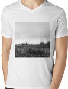 tesla station Mens V-Neck T-Shirt