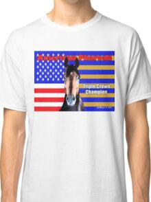 American Pharoah Portrait Classic T-Shirt