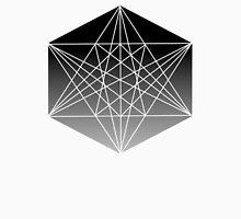 Geometric Star in Hexagon Unisex T-Shirt