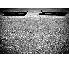 Sit in stone Photographic Print