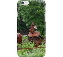 More sculptures in the park iPhone Case/Skin