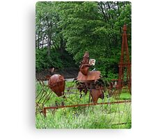 More sculptures in the park Canvas Print