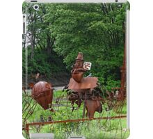 More sculptures in the park iPad Case/Skin