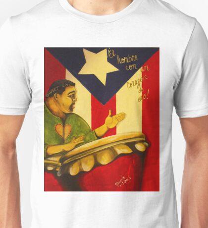 El Hombre con Un Corazon de Oro  Unisex T-Shirt