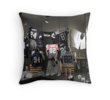 Go, Cowboys! Throw Pillow