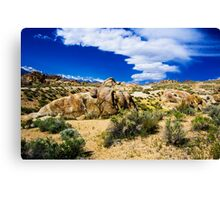 Sierra Wave at Alabama Hills Canvas Print