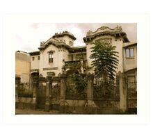 Barrio Amon home Art Print